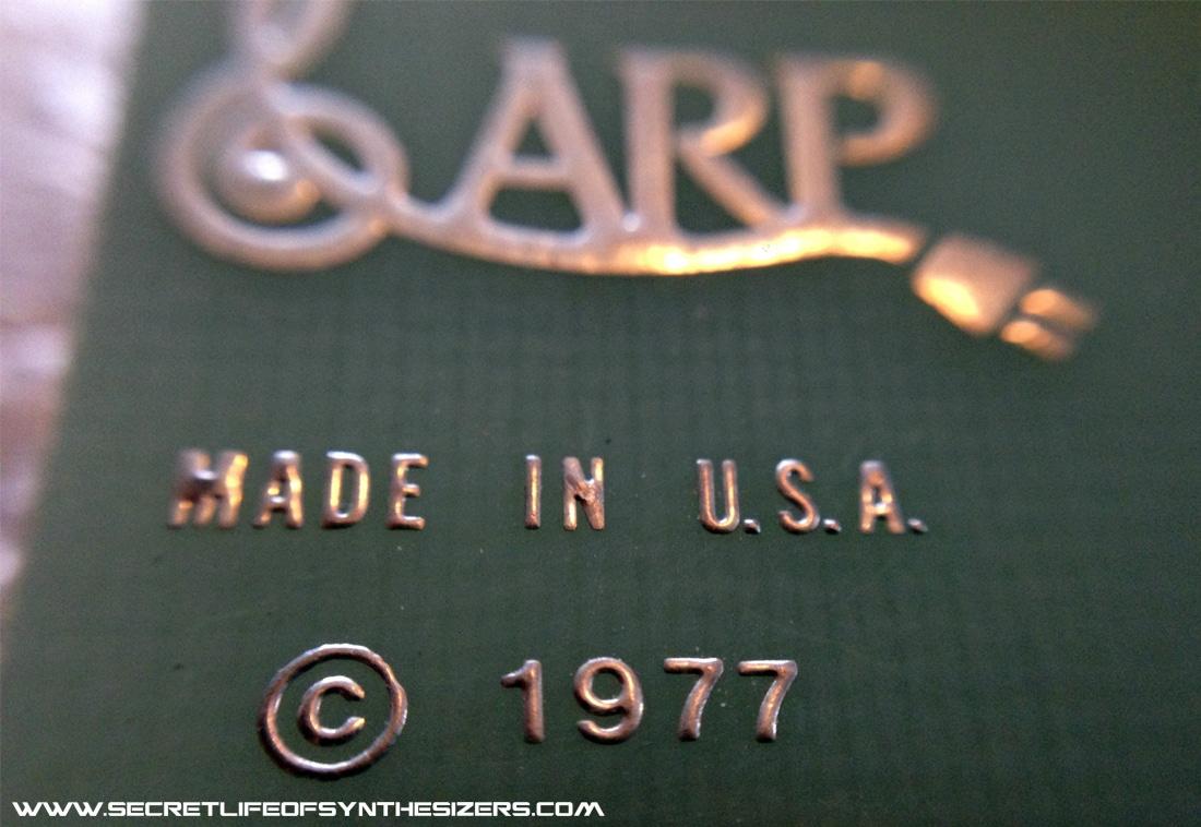 ARP Odyssey circuit board