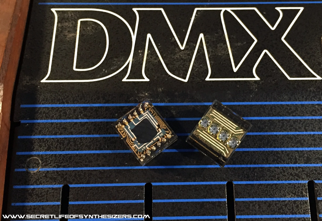 Oberheim DMX display modules