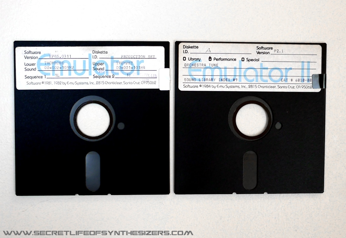 Emulator 1 Floppy disks