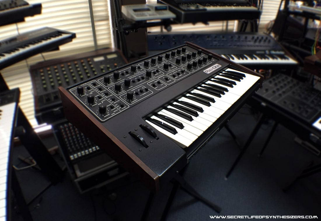 A look inside the Sequential Circuits Pro-One synthesizer.