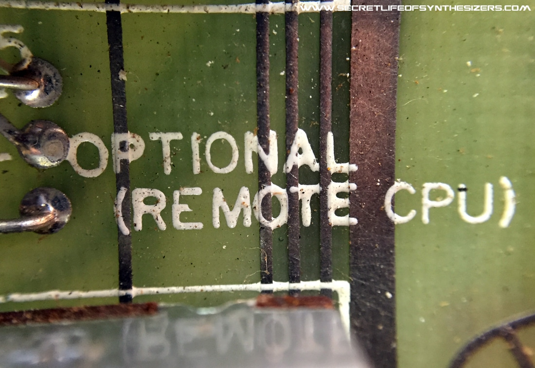Sequential Circuits Pro-One remote CPU