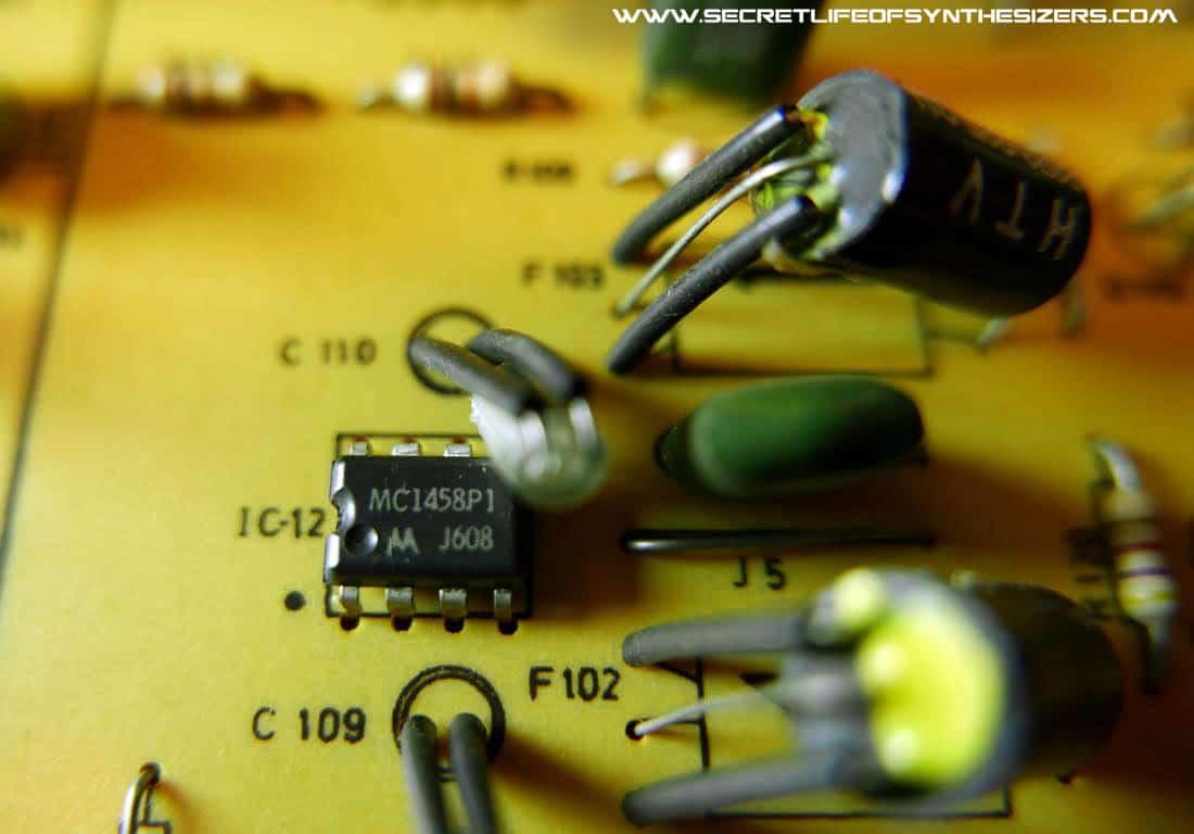 Korg PS-3300 resonator board