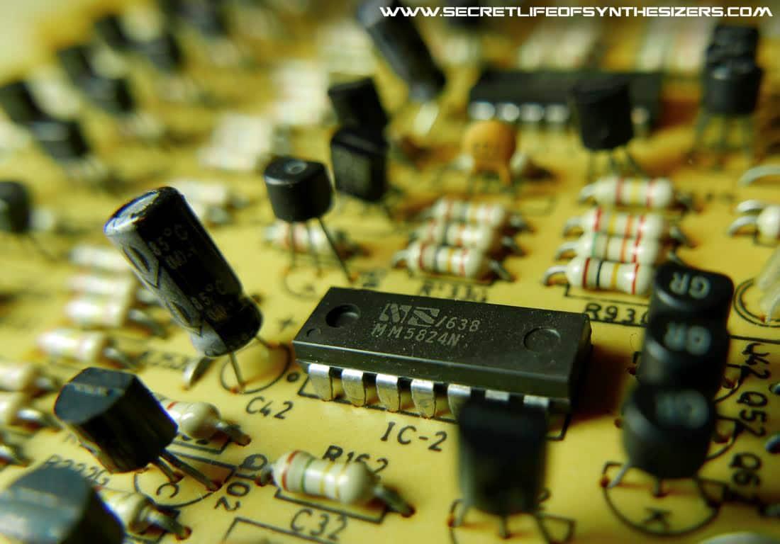 PS-3300 tone generator board