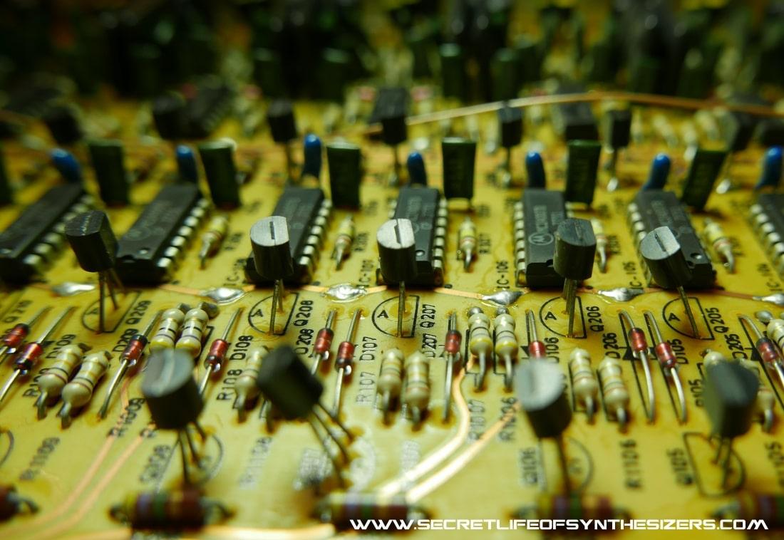 Korg PS3300 divider circuit board