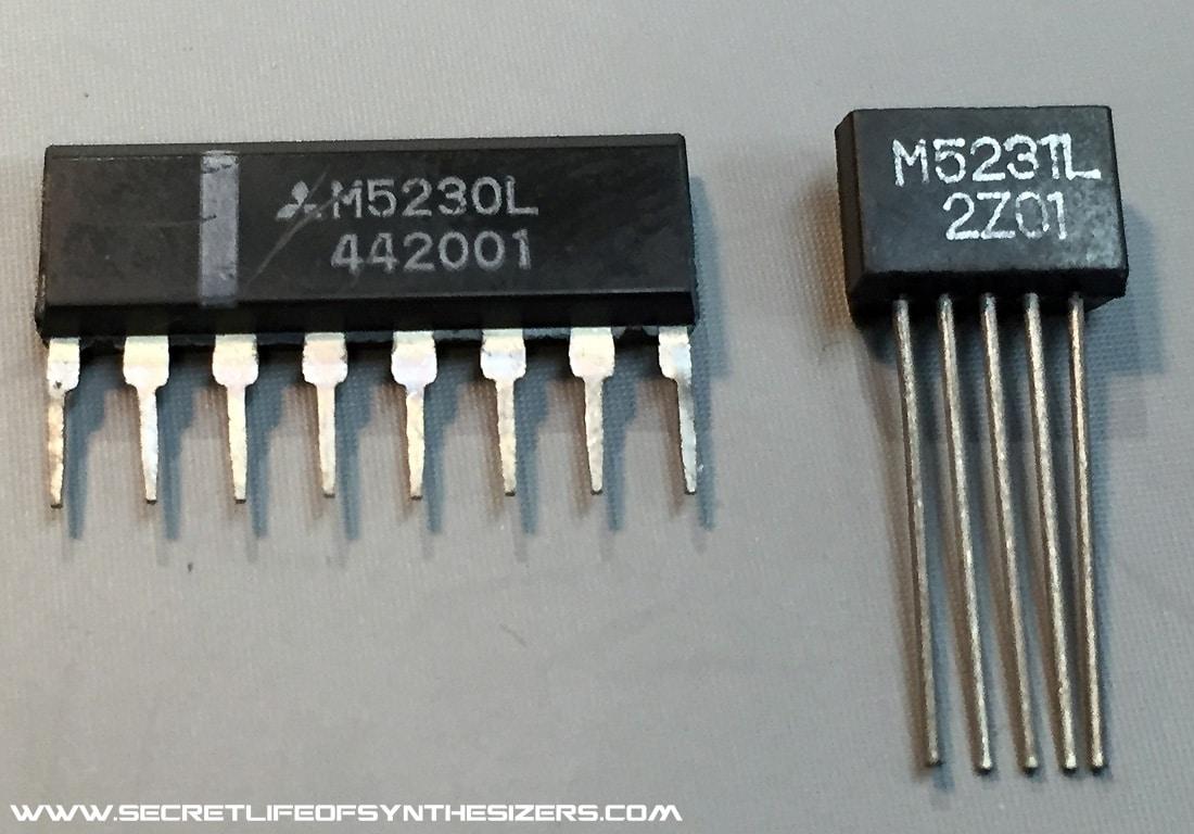 Juno-106 voltage regulators