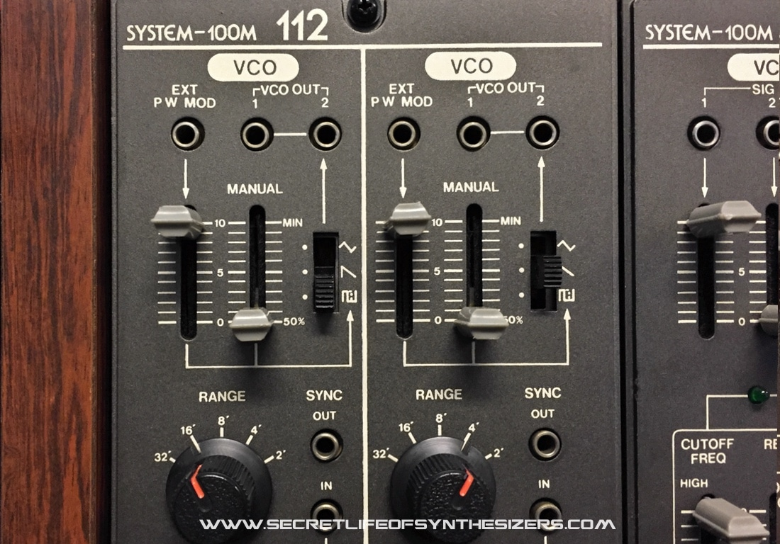 Roland System 100M VCO'S
