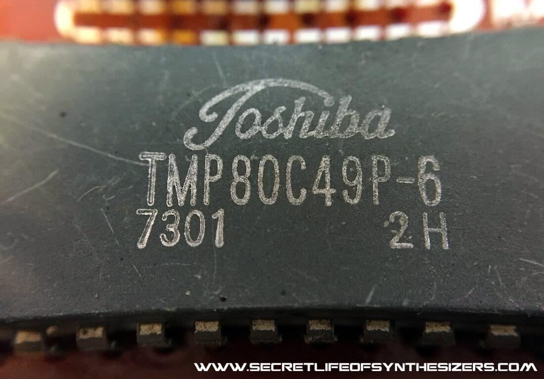 Roland SH-101 CPU IC