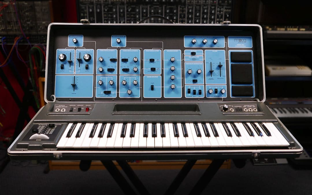 Moog Sonic Six portable synthesizer