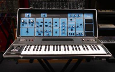 Moog Sonic Six portable synthesizer