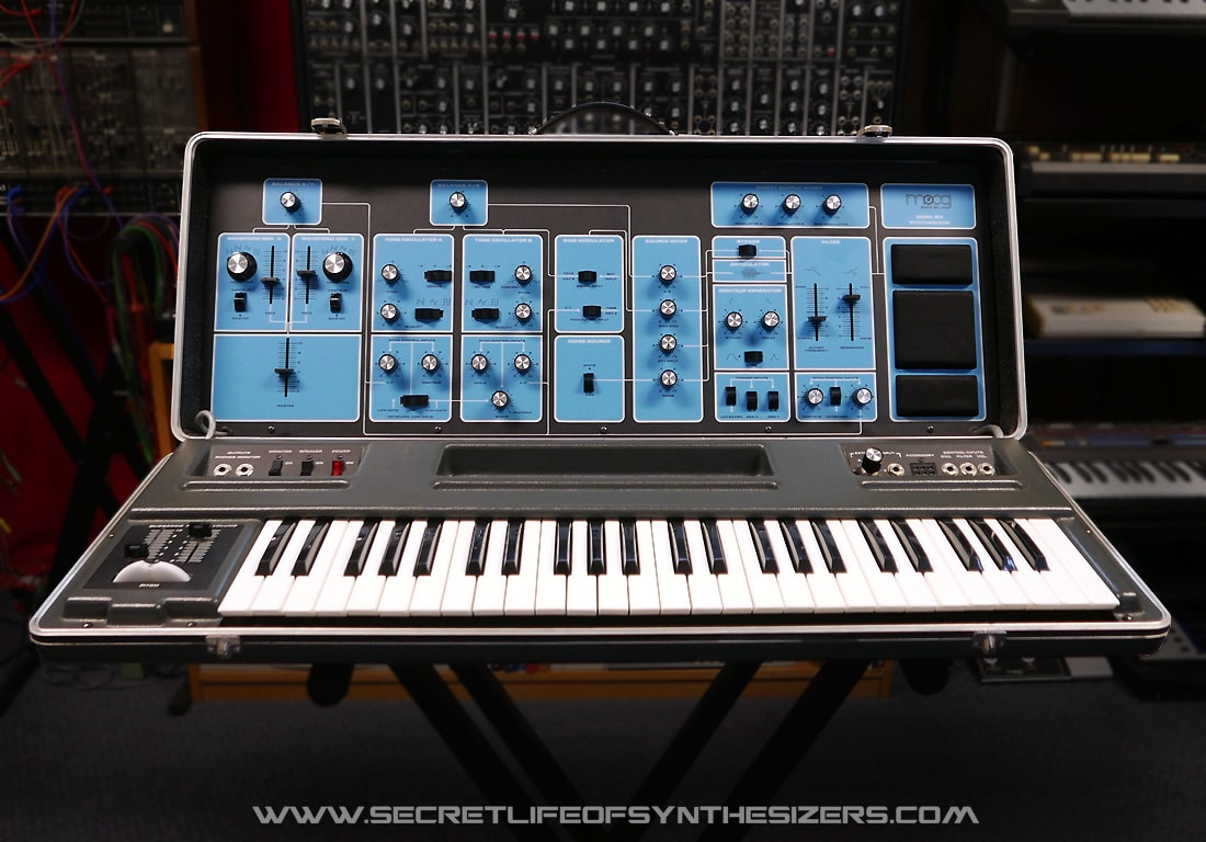 Moog Sonic Six in the studio