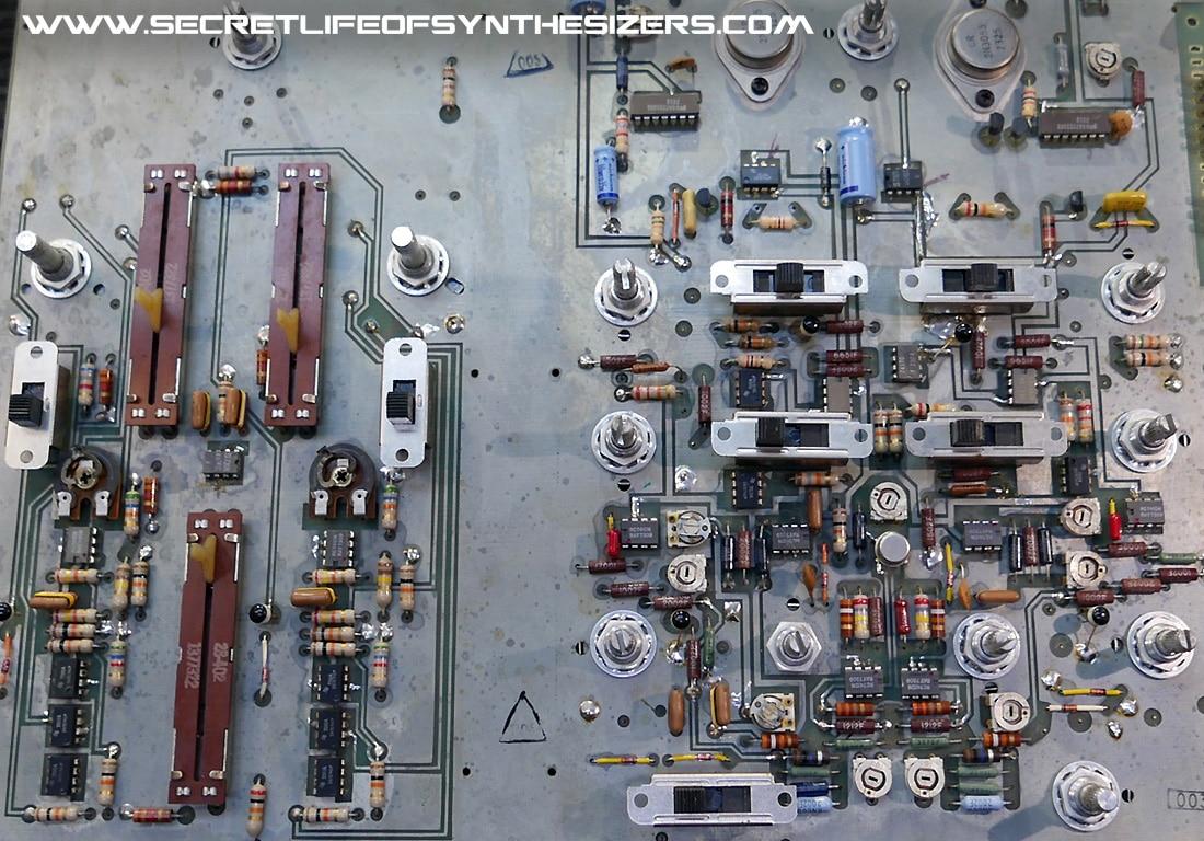 Moog Sonic Six oscillator board