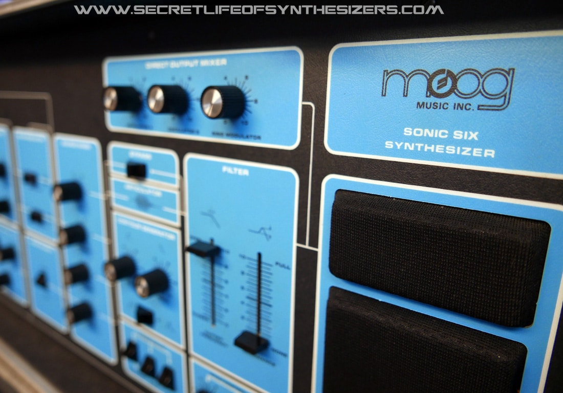 A tour inside Moog's rare and beautiful Sonic Six suitcase